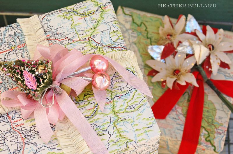 20 Fun and Creative Ideas of how to wrap your gifts at the36thavenue.com ...So cute!
