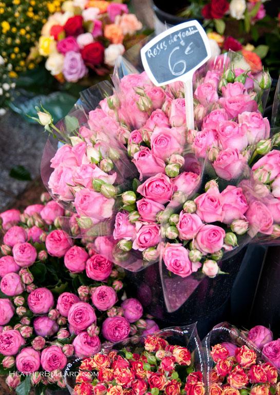 Connu Paris ~ Les Fleurs – Heather Bullard JW06