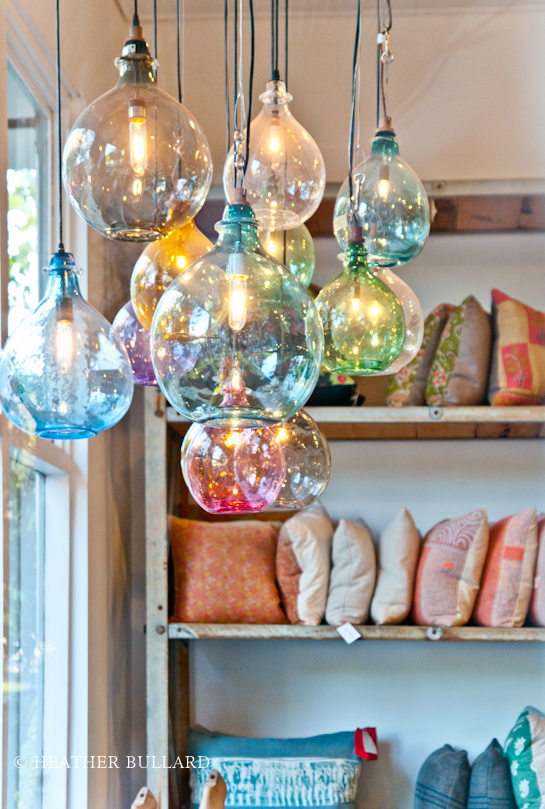 Hand blown glass pendant lights heather bullard i discovered they also have several great videos on their website describing their philosophy in sustainable business practices craftsmanship and healthy aloadofball