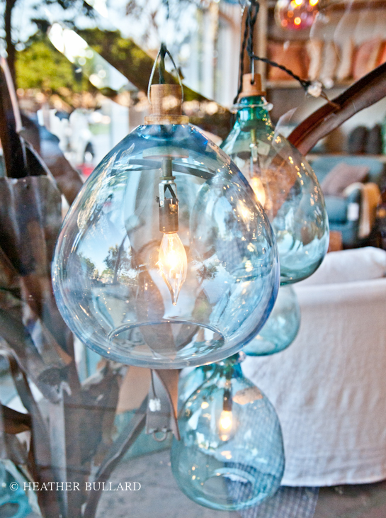 Hand blown glass pendant lights heather bullard hand blown glass pendant lights aloadofball Images