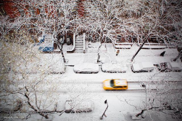 Taxi snow